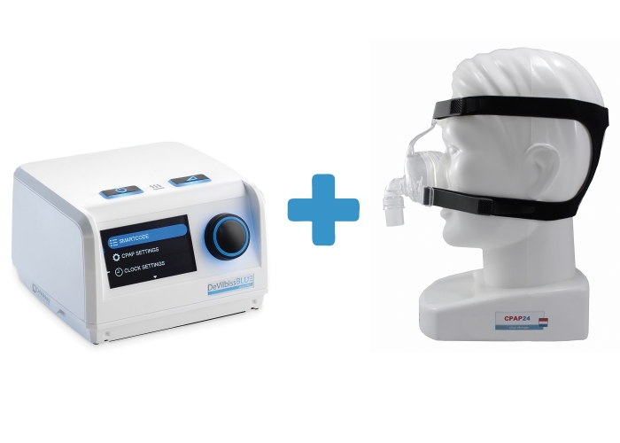 Оферта: Автоматичен APAP Blue AutoPlus +  Назална маска D100N