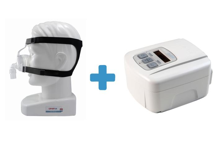 Оферта: Стандартен CPAP SleepCube Standard Plus + Назална маска D100N